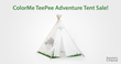 Prosumer's Choice Inspires Kids with ColorMe TeePee Adventure Tent