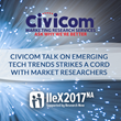Civicom Talk on Emerging Tech Trends Strikes a Cord with Market Researchers at IIeX