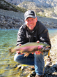 "As an avid fisherman, Brooks Lake Lodge's GM Adam Long loves to hear guest's fishing stories and created the ""Frequent Fly-ers"" package to take advantage of the special outdoor sporting experience."
