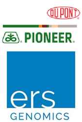 DuPont Pioneer and ERS Genomics Logos