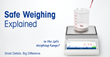 Small Details, Big Difference: New White Paper from METTLER TOLEDO Details Safe Weighing in 3 Steps