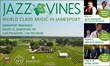 New York Wine Events Presents Jazz in the Vines: Summer Contemporary Jazz Concert Series Returns to Jamesport Vineyards in L.I. Wine Country