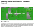 TranSweep Volume 2 - Pixel Transitions - FCPX Plugins