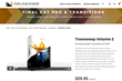 TranSweep Volume 2 was Released by Pixel Film Studios for FCPX Editors