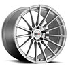 Cray Corvette Wheels- the Mako in Silver w/ Mirror Cut Face