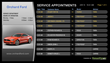 Service Appointment Dashboard with Orchard Ford dealership. A VenueVision solution approved and integrated with CDK.