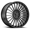 Mandrus Mercedes- Benz Wheels- the 23 in Matte Black