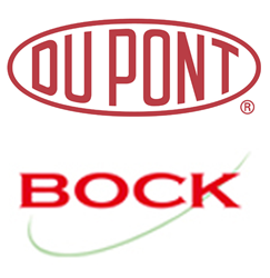 DuPont and Bock Logos