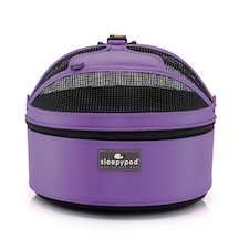 Sleepypod mobile pet bed (True Violet color)