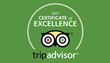 Lajollacooks4u Awarded Trip Advisor's 2017 Certificate of Excellence