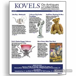 kovels, antiques, collectibles, teddy bears, sterling silver, prip