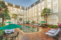 The Bourbon Orleans Hotel, part of the New Orleans Hotel Collection