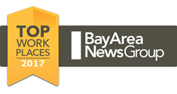 Bay Area News Group 2017 Top Workplace for Mountz