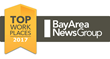 Mountz, Inc. Named a Bay Area News Group 2017 Top Workplace for the 4th Consecutive Year