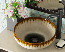 One of eight artisan ceramic sinks by MR Direct