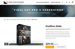 ProSlice Slide - Pixel Plugins - Final Cut Pro X Effects