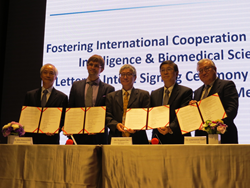 DCB, PITDC, TMU and Insilico Medicine signed a Letter of Intent (LoI) for Cooperation