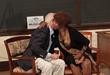 A hug says a million words as Ruby Bridges hugs former Federal Marshal Charlies Burks.