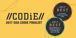 CODiE Finalist Badges