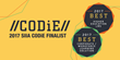 Edvance360 LMS-SN Finalist for 2017 CODiE Award for Best Post-Secondary Learning Management Solution & Best Corporate/Workforce Learning Solution - 9 Years Running