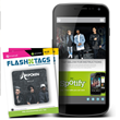 Flash Tags are interactive smart stickers that can be placed anywhere. Tap a pre-programmed Flash Tag with your smartphone to access music, videos, games and more.