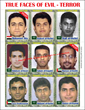 We Shall Never Forget 9/11 Vol II  Terrorist Trading Cards