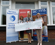 Double delight as two charities share the wealth