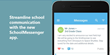 SchoolMessenger app messages