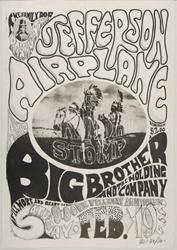 Family Dog Tribal Stomp FD-1 Concert poster