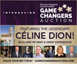 Bid to Meet Celebrity and Industry Business Leaders to Support Cancer Research Including Celine Dion, Robert Herjavec, Stephen Amell, John Ruffolo,  Larry Rosen and More