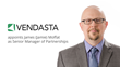 James (Jamie) Moffat, Vendasta's Senior Manager of Partnerships