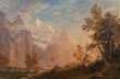 Albert Bierstadt, Western Landscape, Mount Whitney, 1869. Oil on canvas, 36 x 54 in. Collection of the Newark Museum, Purchase 1961 The Members' Fund  61.516