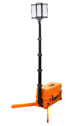 Battery Powered Portable Emergency LED Light Tower