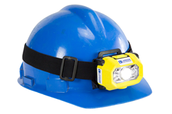 Hands Free Intrinsically Safe LED Headlamp