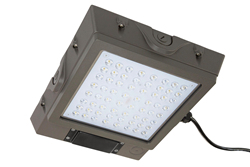 LED Canopy Light with a Microwave Motion/Occupancy Sensor