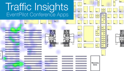 Learn about attendee behavior via traffic insights at exhibits and trade shows