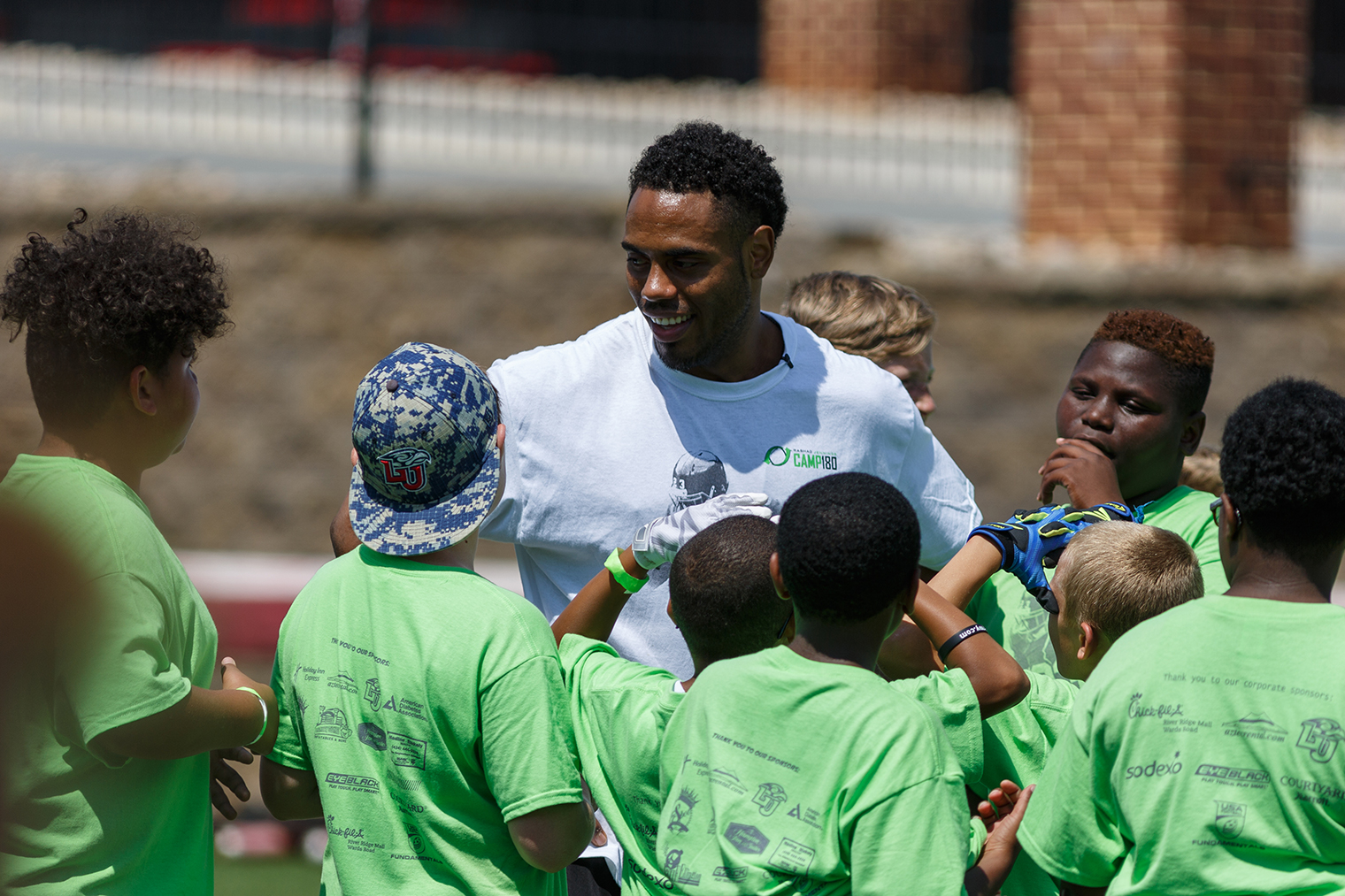 Liberty University Welcomes Alumnus, NFL Running Back, and DWTS ...