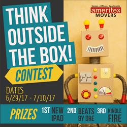 Ameritex Movers Alief ISD BoxBot Contest