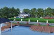 Villa Porto Vista with over-water boathouse, deck and dock