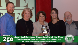 Naturals2Go Awarded Business Opportunity of the Year