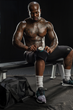 Von Miller recovering with the IW-1, Zamst's portable icing and compression brace.