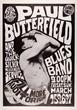 $10,000 Reward Announced for Family Dog FD-3 Paul Butterfield Fillmore Auditorium 3/25/66 Concert Poster by Psychedelic Art Exchange