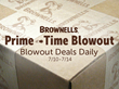 Brownells Prime-Time Blowout Weeklong Event Kicks Off Monday