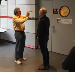 Adam Savage on a national Maker Tour, sponsored by Chevron, tours MIT's Center for Bit & Atoms and listens to Neil Gershenfeld talk about the future of making. fabbing, makerspace, Boston, digital fabrication