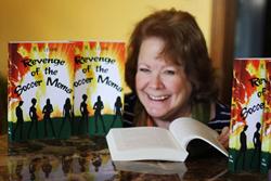 Author M.E. Levine (Myra) releases her debut novel, Revenge of the Soccer Moms.