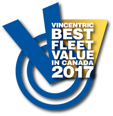 Vincentric announces 2017 best fleet value in canada for Ford motor company awards