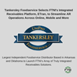 Tankersley Foodservice Selects FTNI's Integrated Receivables Platform, ETran, to Streamline AR Operations Across Online, Mobile and More