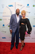Coach Michael & Terri Woodson attend their Woodson Gala, Red Carpet & Pairings Party at 1OAK, Mirage Las Vegas