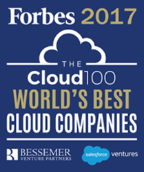 Forbes 2017 - Cloud 100