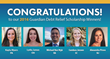 Guardian Debt Relief is proud to award these five students for their efforts.